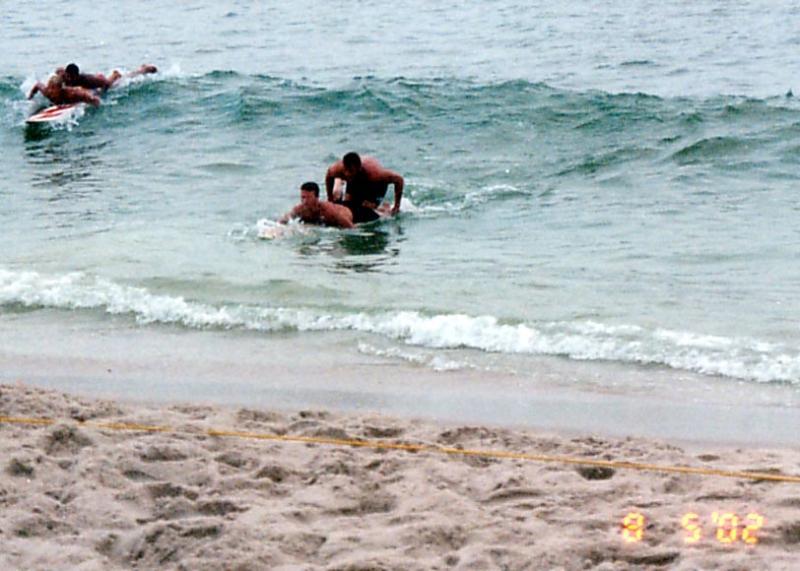 Heidi Klum's Heroic Beach Rescue